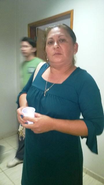 Kátia Ribeiro, comerciante, diz que seus prejuízos chegam a R$ 40 mil