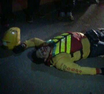 O mototaxista foi surpreendido pelos assassinos que saíram de uma  guarita