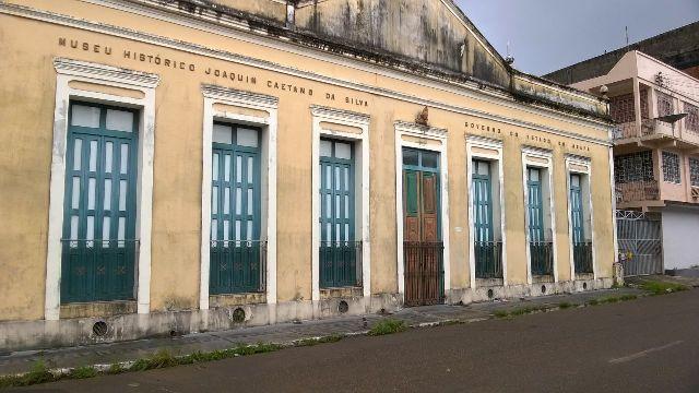 Museu tem um acervo rico de peças arqueológicas e históricas
