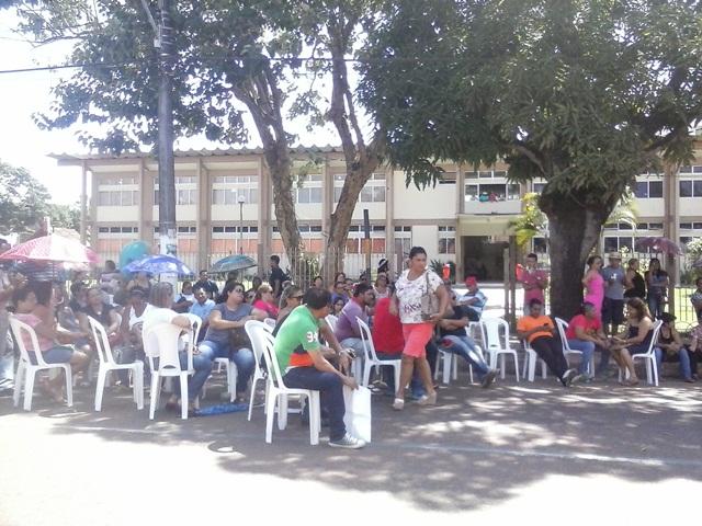 Servidores da saúde Macapá continuam greve por tempo indeterminado