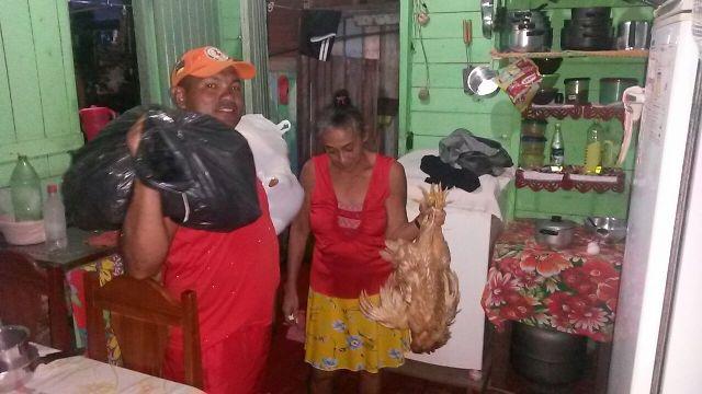Dona Maria José, 52 anos: ajuda