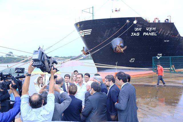 Ampliação do porto voltará a ser debatida no Fórum de Governadores. Foto: Agência Amapá