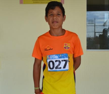 Christian, vencedor nos 600 metros: medalha para o AP