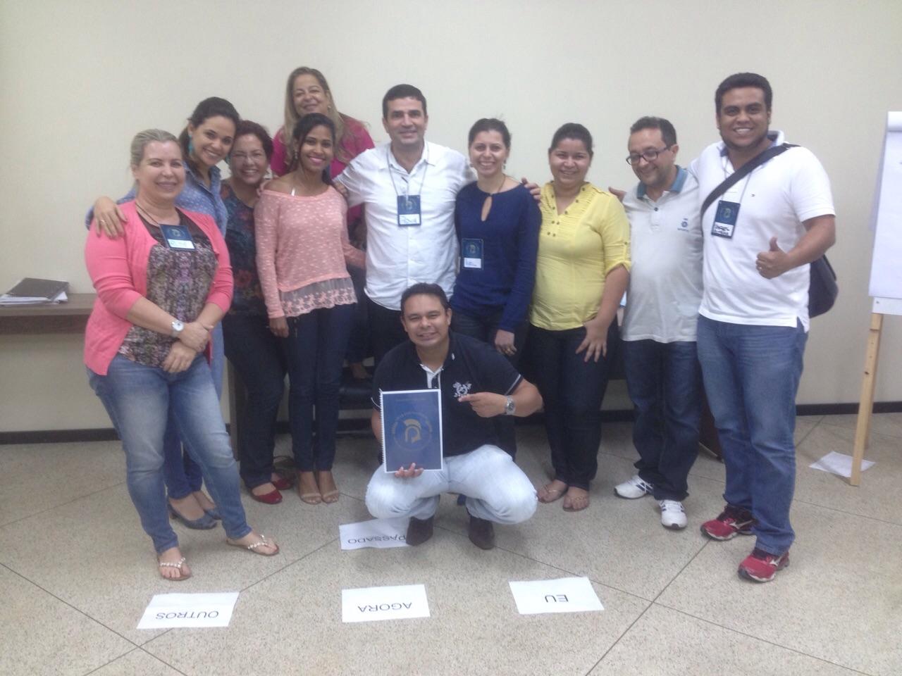 Participantes do curso de Carpe Diem que dura três dias