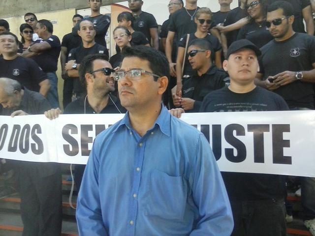 Presidente do sindicato, Jailson Mafra: diálogo com pressão