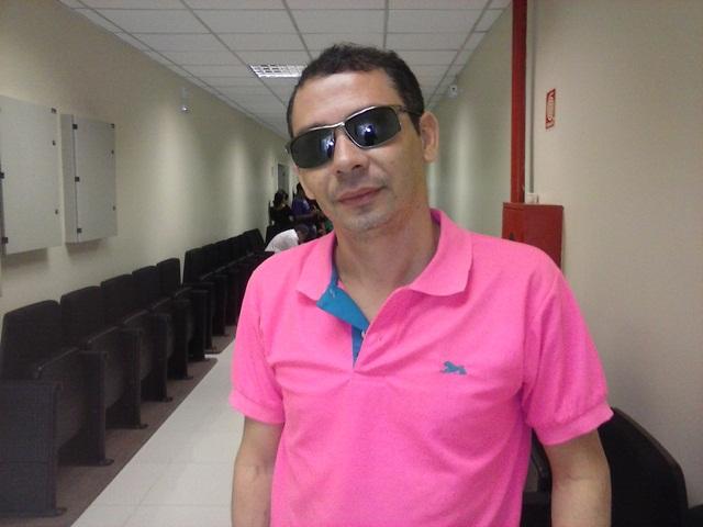 O amigo e carnavalesco Sandro Macapá:  dupla inseparável. Fotos: Cássia Lima