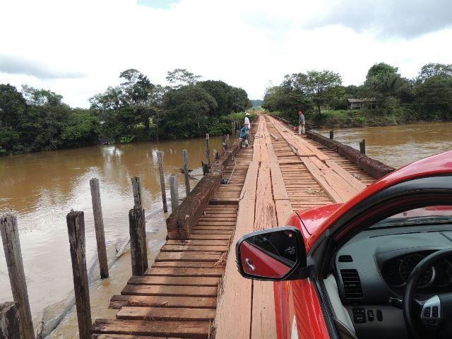 Ponte do Cassiporé ameaçava cair