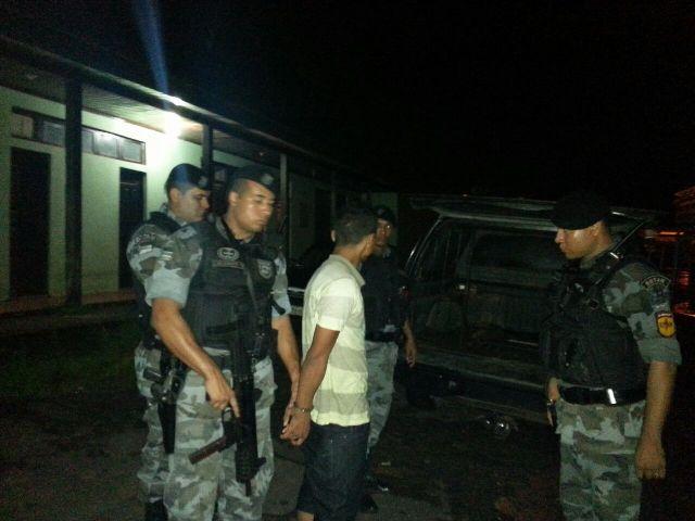 Urica apreendido no dia 18 de maio depois de 4 quatro de negociação para libertar reféns no depósito da Sead.