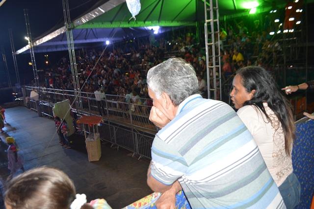 Ministro Juca Ferreira se surpreendeu com o arraiá amapaense