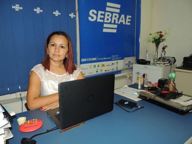 Gerente do Sebrae em Oiapoque, Elenice Menezes