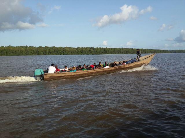 A Marinha seria de grande ajuda nas fiscalizações nos rios da região