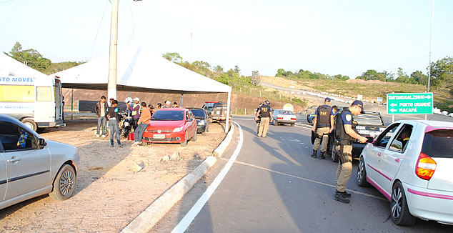Policiamento será reforçado no perímetro urbano da BR-210