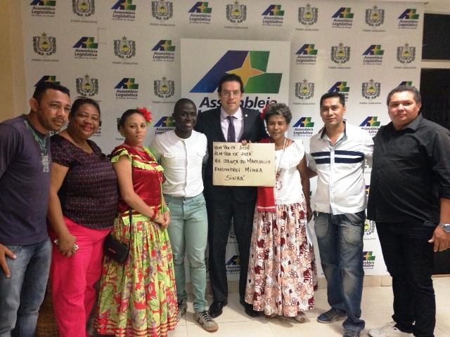 Representantes do Marabaixo reuniram com o deputado Dr. Furlan