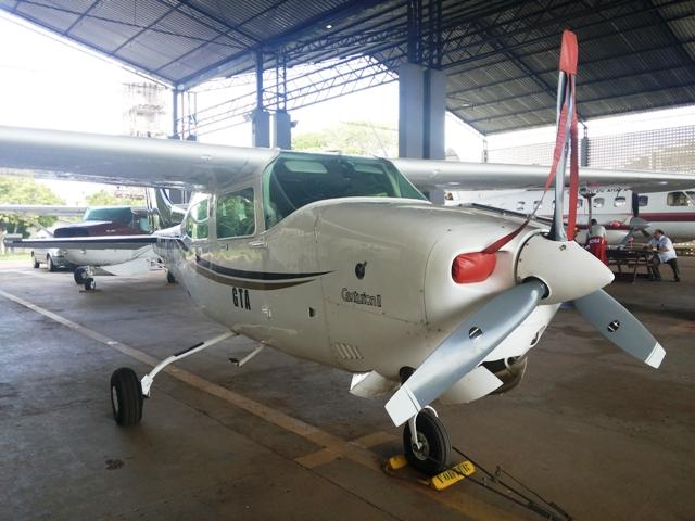 Carlão pilotou um monomotor por 22 horas, dos Estados Unidos até Macapá