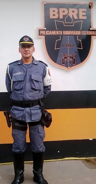 Capitão Rondineli Marques, do BPRE