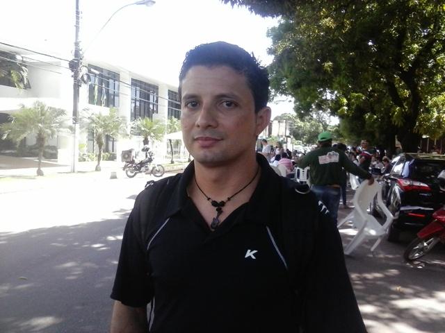 Ismael Rodrigues, do Sindsaúde: queremos melhores condições de trabalho