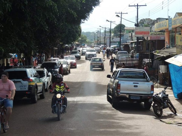 Oiapoque fica na fronteira com a Guiana Francesa. Foto? Arquivo