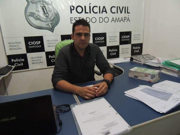 Delegado Cesar Augusto: 30% dos crimes solucionados em Oiapoque