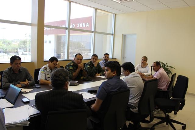 Reunião do Ministério Público com órgãos de fiscalização e licenciamento