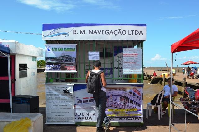 Segundo a Capitania dos Portos, cerca de 12 mil pessoas se deslocaram entre Macapá e Afuá
