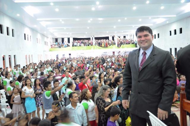 Pastor Gesiel Oliveira, em congresso anterior realizado pela AD Zona Norte