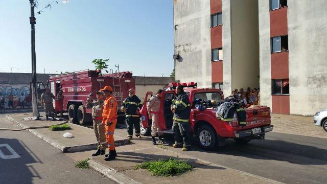 Engenheiros irão avaliar se houve danos na estrutura do prédio