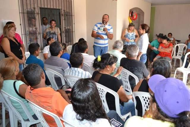 Lideranças presentes compactuaram das ideias da deputada Marcivânia