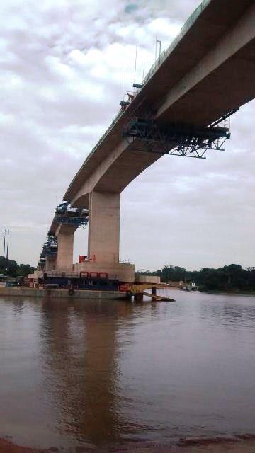 Os trabalhos para conclusão da ponte serão retomados em novembro