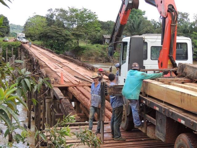 Ponte do Cassiporé, importante para o município de Oiapoque passa por reforma