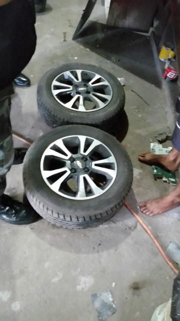 Os bandidos gostavam de rodas especiais, segundo a polícia