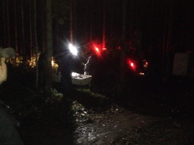 O resgate do corpo de Wilson foi feito ainda na noite de ontem