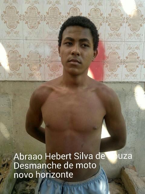 Abraão chegou a ser preso acusado de desmanche de motos