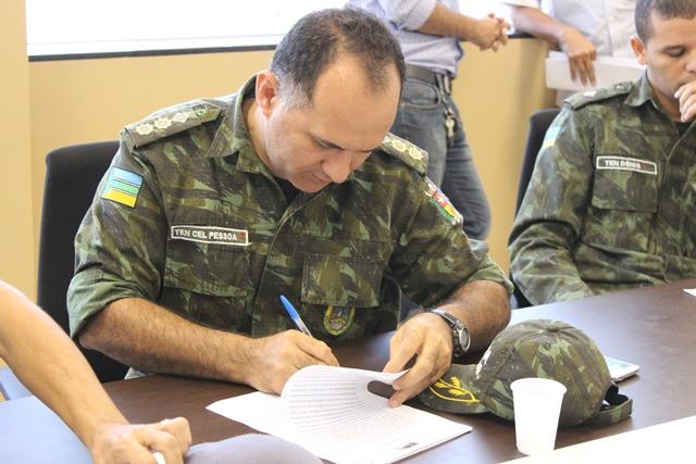 Comandante do Batalhão Ambiental, coronel Pessoa, apelou para os órgãos de licenciamento