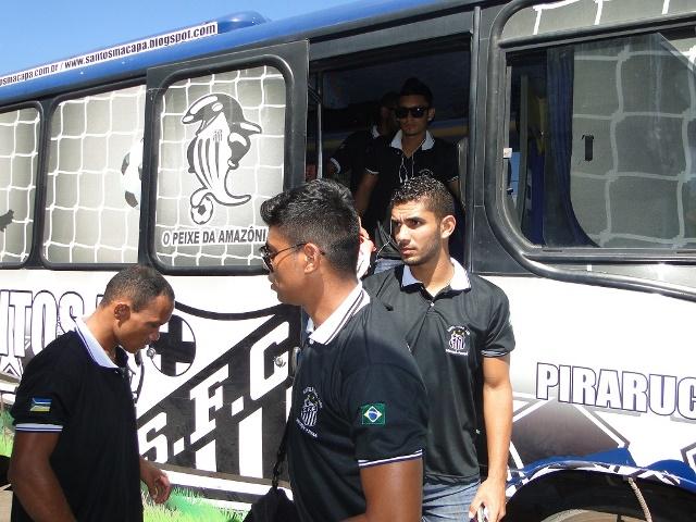 Com desfalque de André Cabeça, o time do Santos viajou nesta sexta-feira para o Maranhão