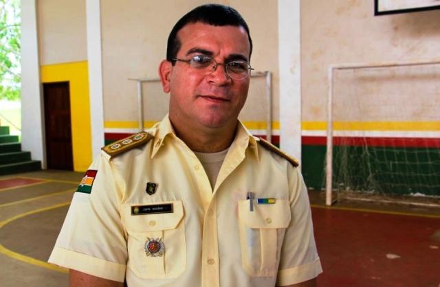 Coronel Ubiranildo Macedo, da Guarda Municipal