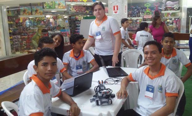Equipe de Laranjal do Jari:  falta investimento, mas evento é bom para aprender sobre programação