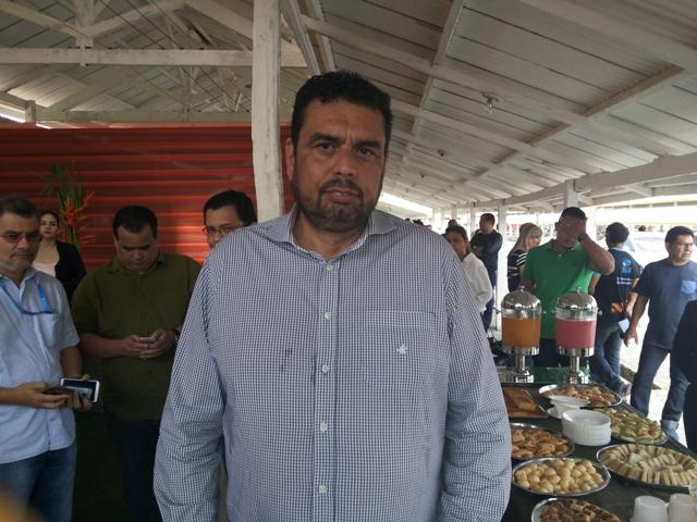 Alcir Matos, coordenador da Expofeira: vitrine com mais de 200 empresas e 500 pequenos empreendedores