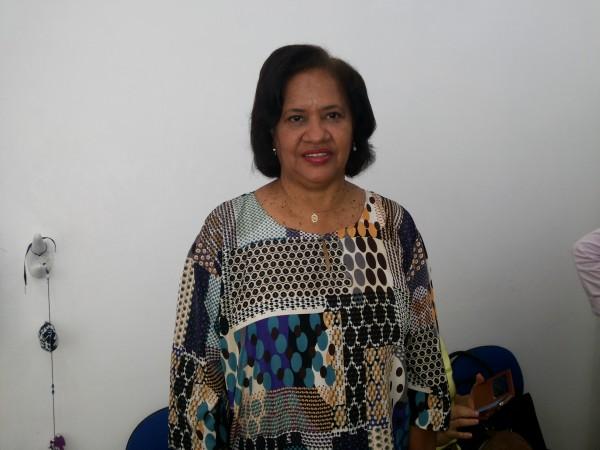 Nirce Carvalho, diretora da Maternidade Mãe Luzia: precisamos desse tipo de apoio