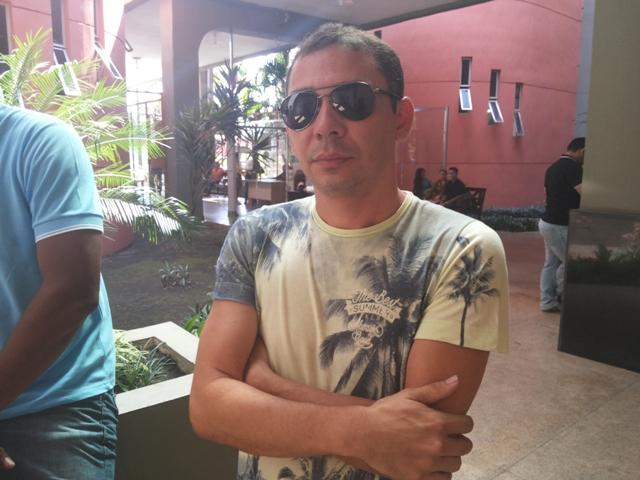 Sandro Ferreira, amigo de Chagas: ainda dói