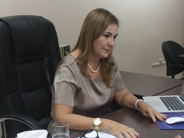 Secretária Gorte Souza: estamos cumprindo tudo que foi acertado na Agenda do Servidor