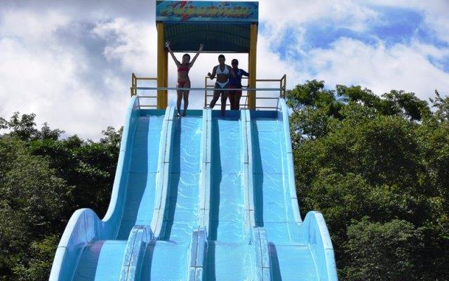 Uma das prioridades será  ampliar o parque aquático. Fotos: Ascom AABB