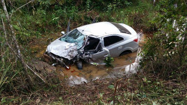 Ocupante do sedan morreu a caminho de Macapá