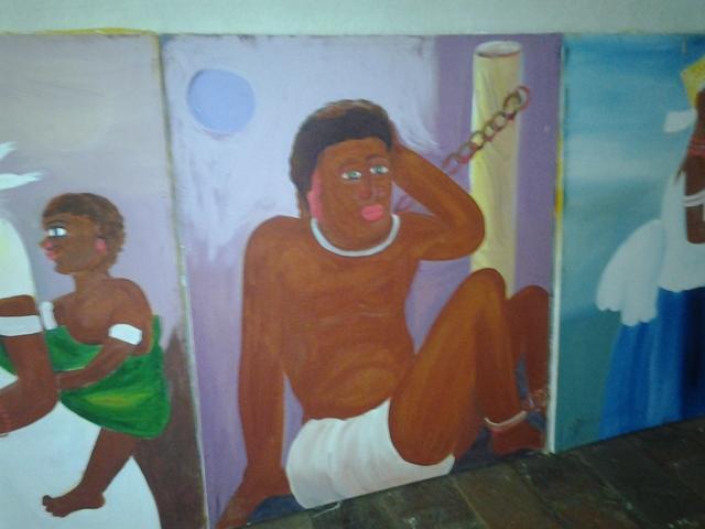 Uma das alas da exposição vai mostrar a vida dos negros escravos