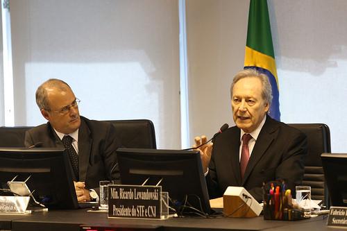 Presidente do CNJ e do STF, Rciardo Lewandovsky votou com a relatora