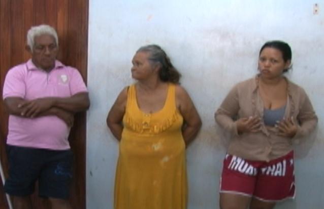 Copala, a esposa e uma filha, presos em abril