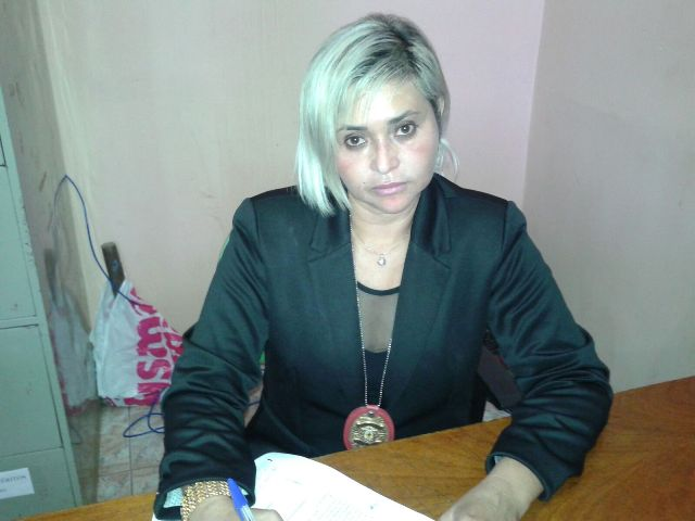 Delegada Luíza Maia comandou a equipe que prendeu o assaltante