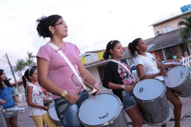 Estudantes levam à sério os ensaios para os desfiles cívicos. Fotos: Agência Amapá