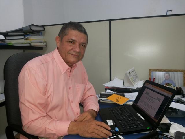 O professor Ubaiara
