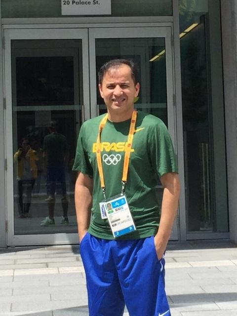Júnior Maciel, amapaense que é dos três técnicos da Seleção Brasileiro de Taekwondo