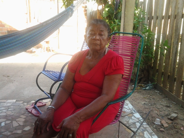 Dona Marciana aprendeu o ofício com uma comadre dela